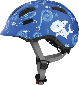 Kask ABUS SMILEY ROYAL BLUE SHARKY rozm.M
